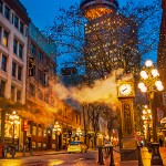 Gastown at the break of dawn